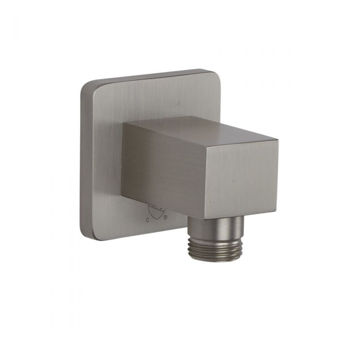 Milano Hunston - Square Outlet Elbow - Brushed Nickel