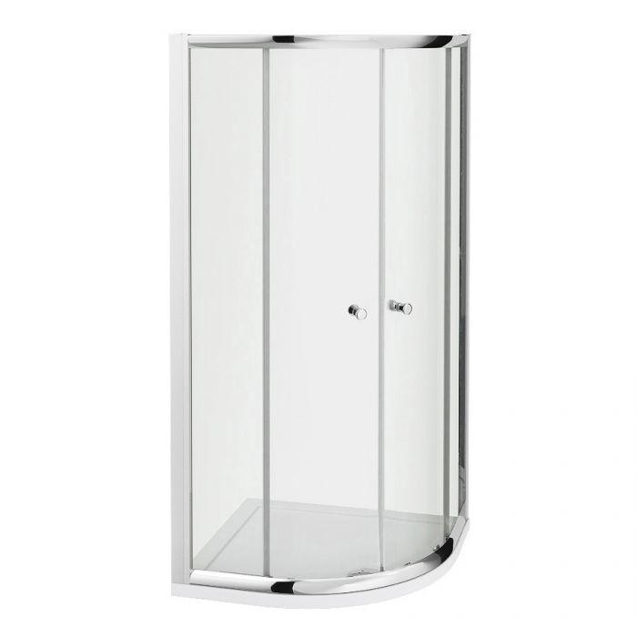 Milano Portland - Reversible Quadrant Shower Enclosure - 900mm x 900mm