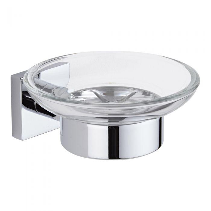 Milano Liso - Soap Dish - Chrome