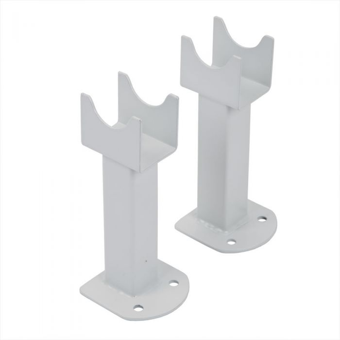 Milano Cayos - White Floor-Mounting Feet for Cayos Vertical Designer Radiators