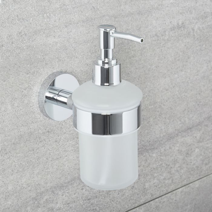 Milano Mirage - Modern Soap Dispenser - Chrome