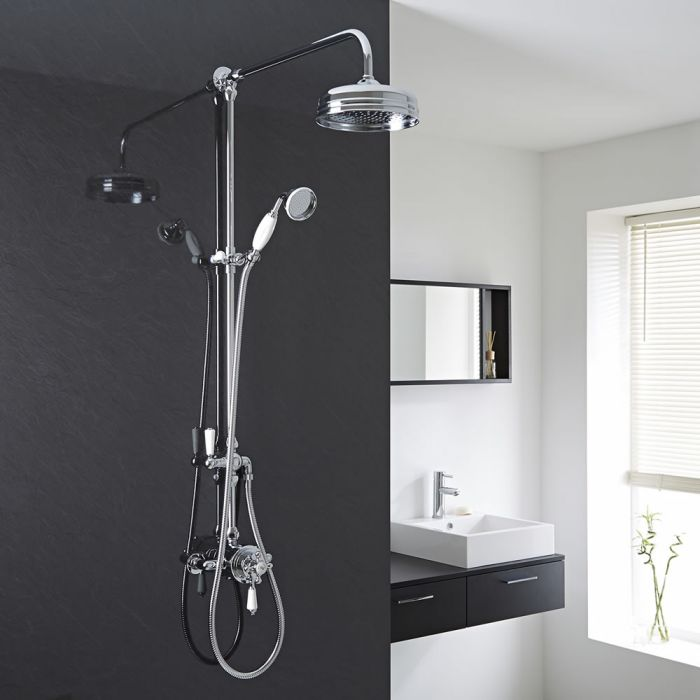 Milano Elizabeth - Traditional Thermostatic Shower Valve with Grand Shower