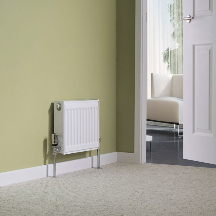 Milano Compact - Single Panel Radiator - 300mm x 400mm (Type 11)