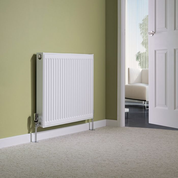 Milano Compact - Single Panel Radiator - 600mm x 800mm (Type 11)