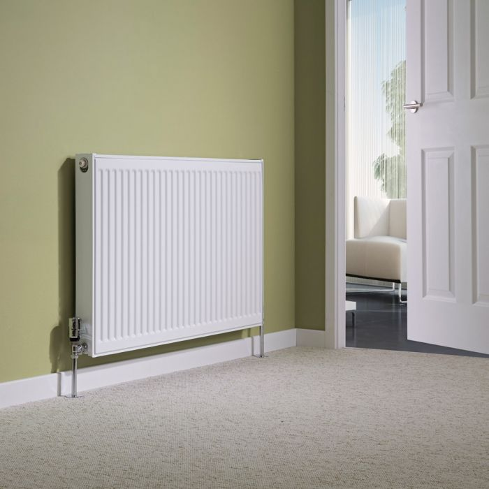 Milano Compact - Single Panel Radiator - 600mm x 1000mm (Type 11)