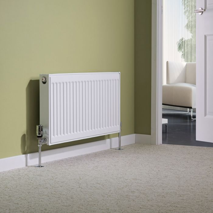 Milano Compact - Double Panel Plus Radiator - 400mm x 800mm (Type 21)