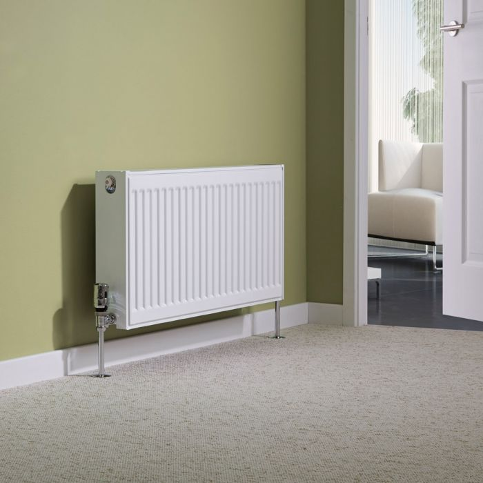 Milano Compact - Double Panel Radiator - 400mm x 800mm (Type 22)