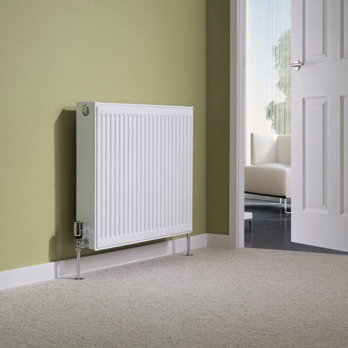 Milano Compact - Double Panel Radiator - 600mm x 800mm (Type 22)