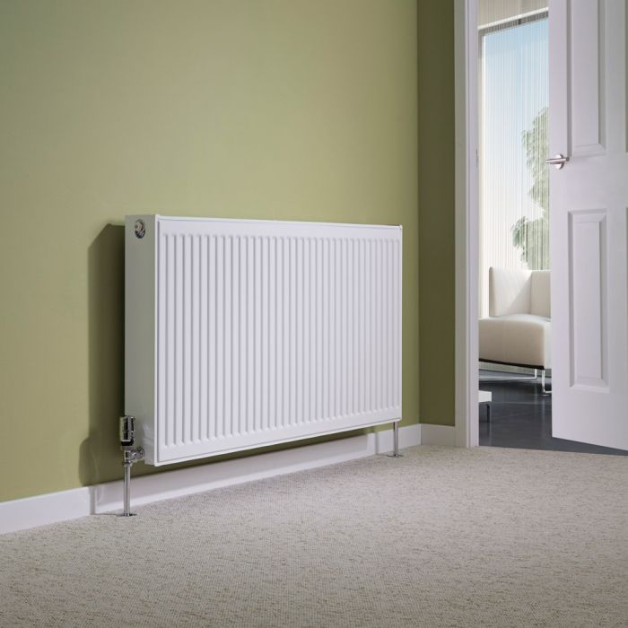 Milano Compact - Double Panel Radiator - 600mm x 1200mm (Type 22)