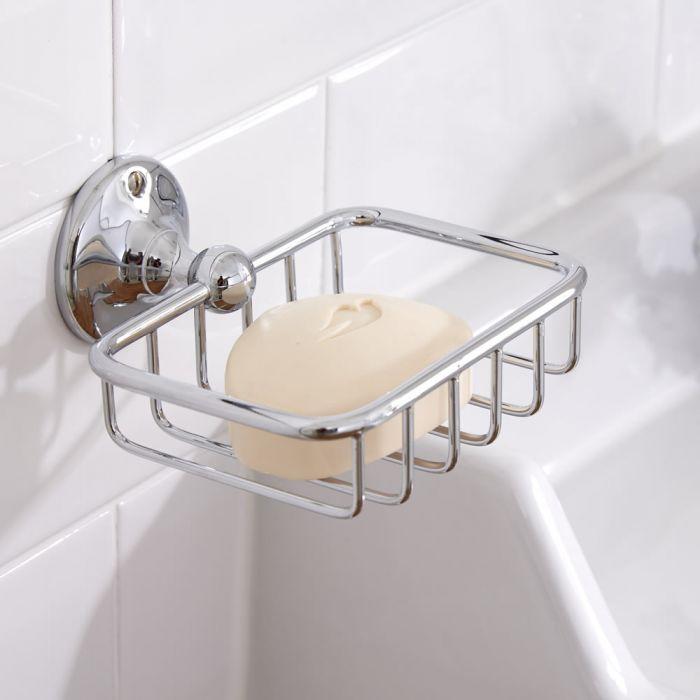 Milano Ambience - Soap Basket - Chrome