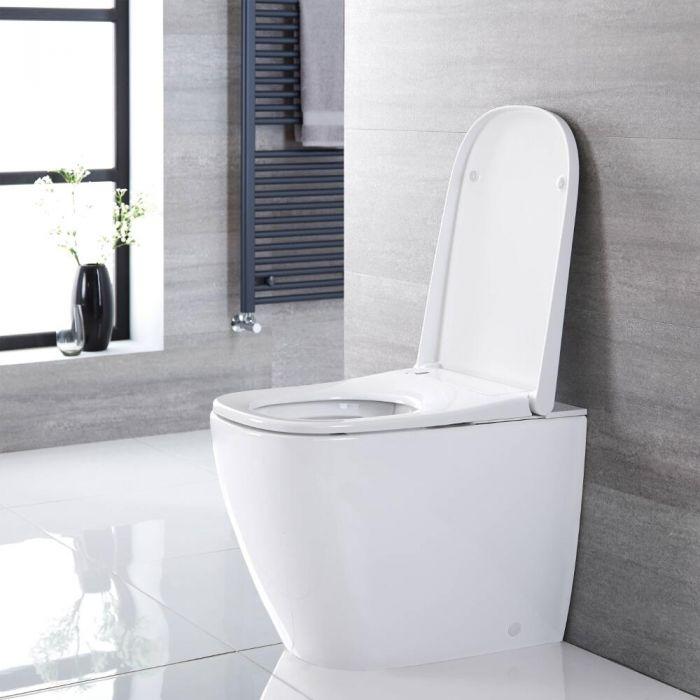 Milano Luxus - Back to Wall Japanese Bidet Toilet