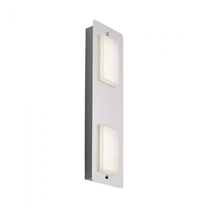 Biard Glacier Twin LED Bathroom Wall/Ceiling Light