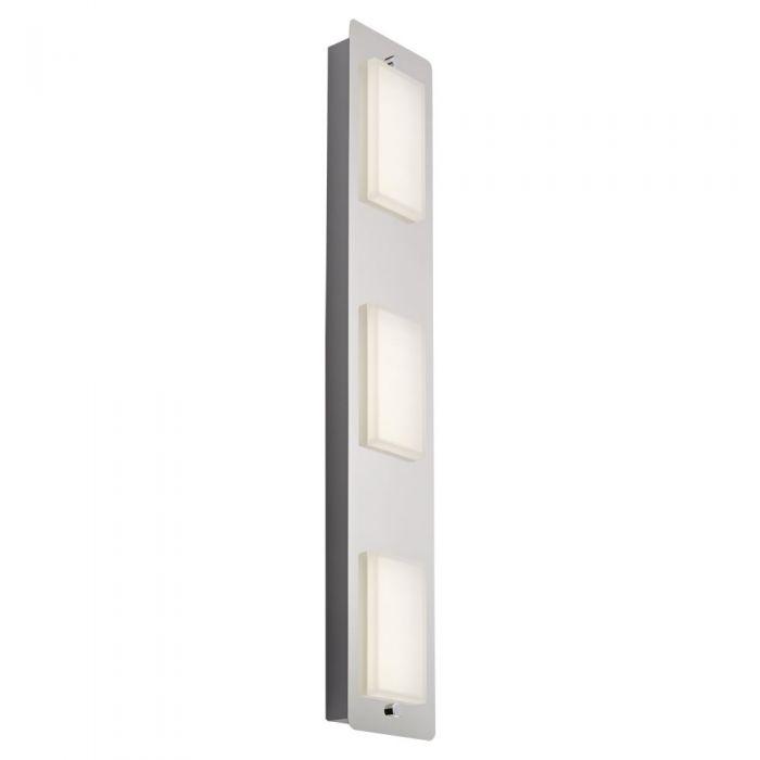 Biard Glacier Triple LED Bathroom Wall/Ceiling Light