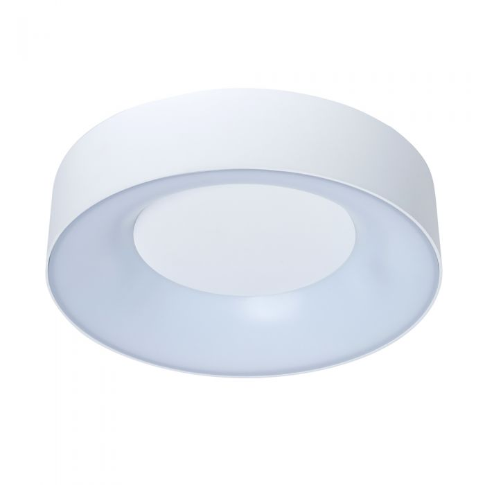 Biard Lecce IP54 LED Round Ceiling Light - White