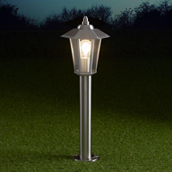 Biard Cannes IP44 Lantern Bollard Light - 600mm