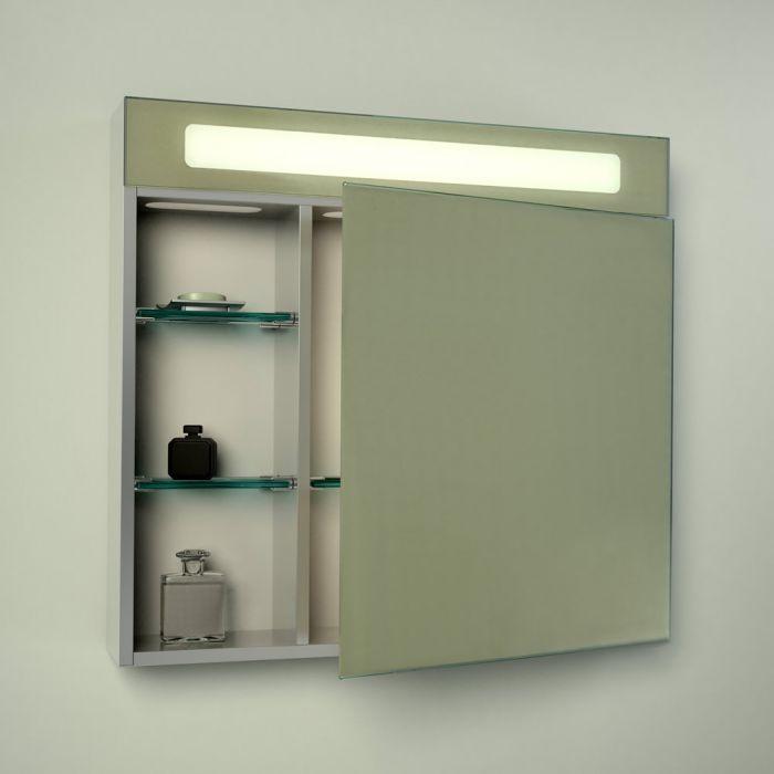 LED Bathroom Mirrored Cabinet