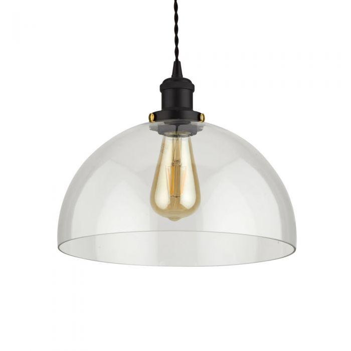 Biard Gracia Glass Dome Pendant Light with Various Pendant Colours