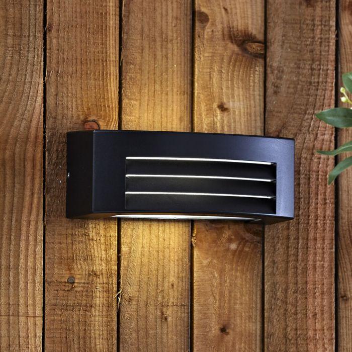 Biard Architect IP54 Griglia Outdoor Wall Light