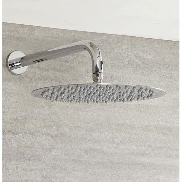 Milano - Wall Mounted Shower Arm - Chrome