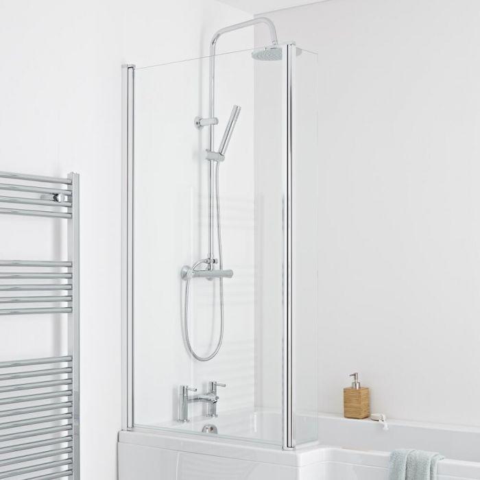 Milano - L Shaped Bath Shower Screen