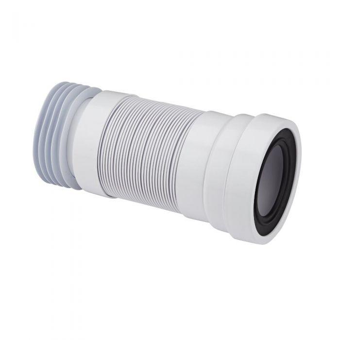 McAlpine - White Flexible Straight Pan Connector