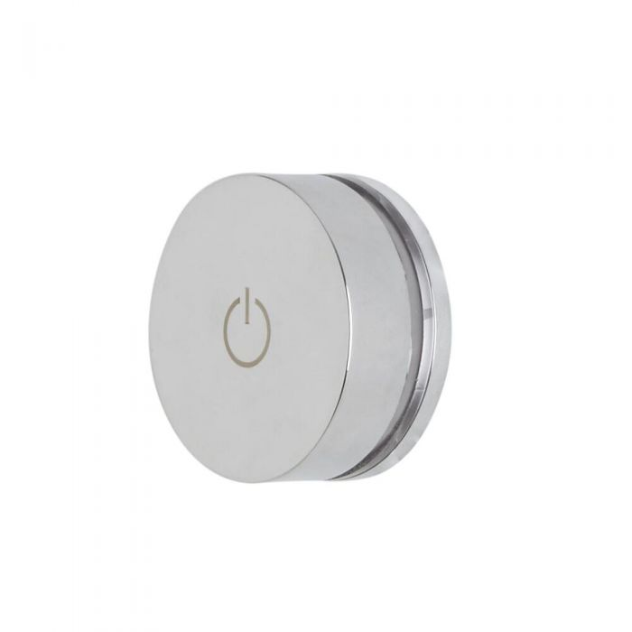 Milano Vis - 1 Outlet Twin Valve for Digital Shower and Tap Control System - Chrome