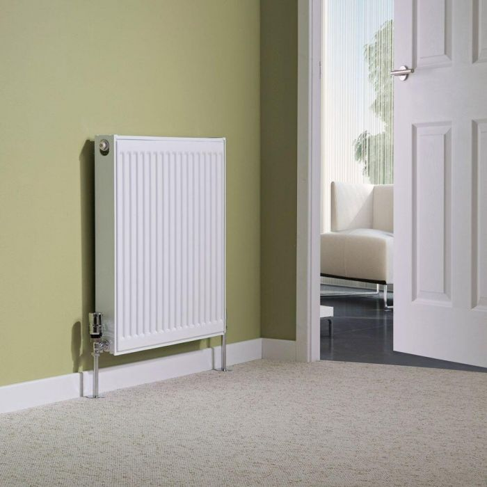 Milano Compact - Single Panel Radiator - 600mm x 600mm (Type 11)