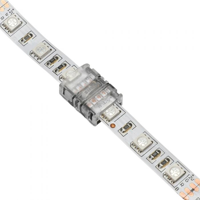 Biard LED Strip Connector for 5050 10mm IP20 RGB - 4 Pin