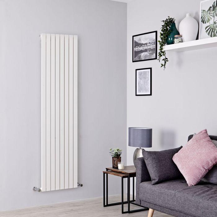 Milano Capri - White Flat Panel Vertical Designer Radiator - 1780mm x 472mm