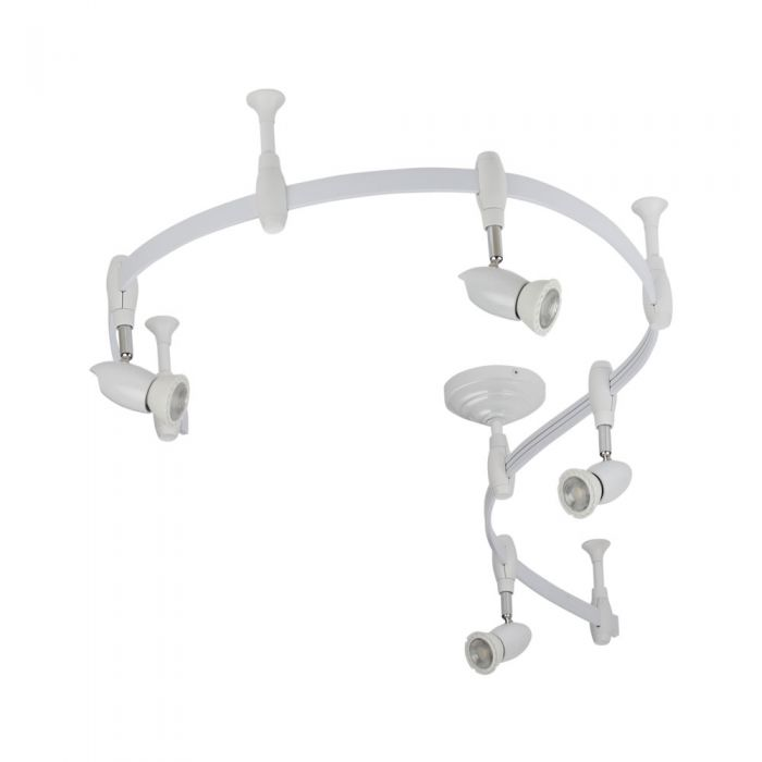 Biard Forio 2m Flexible Track Light Kit - White