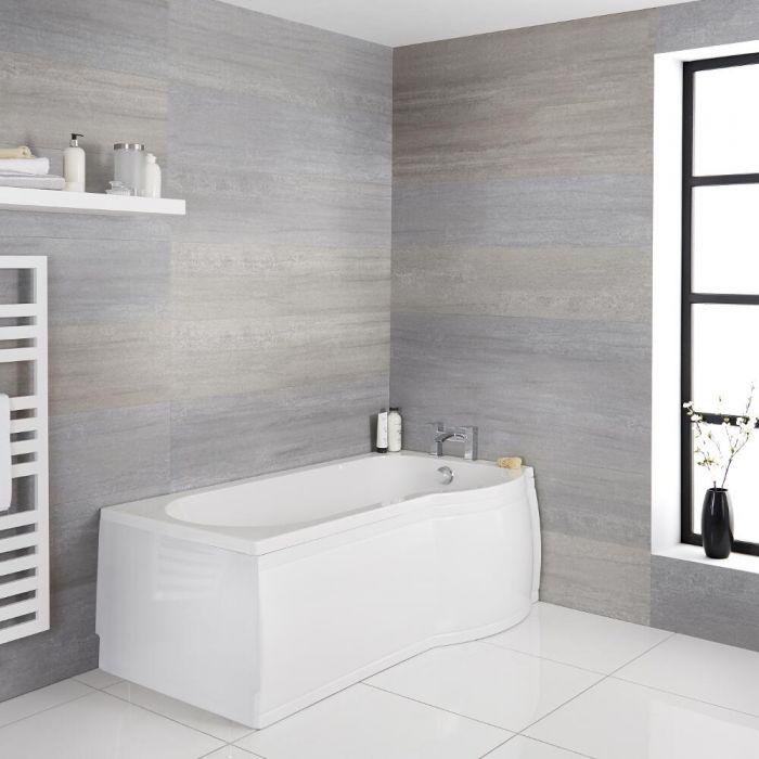 Shower Bath Taps Modern Left Hand P Shaped Shower Bath Tub With