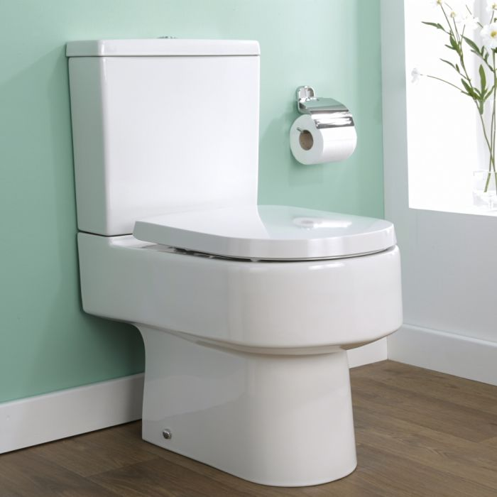 Milano Ballam - Close Coupled Toilet with Soft Close Seat