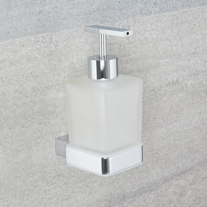 Milano Arvo - Modern Soap Dispenser - Chrome