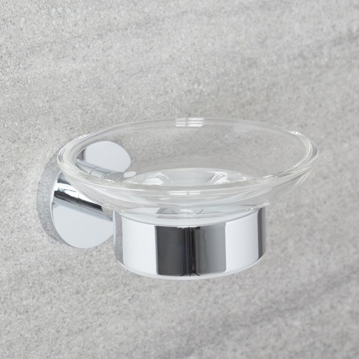 Milano Mirage - Modern Soap Dish - Chrome