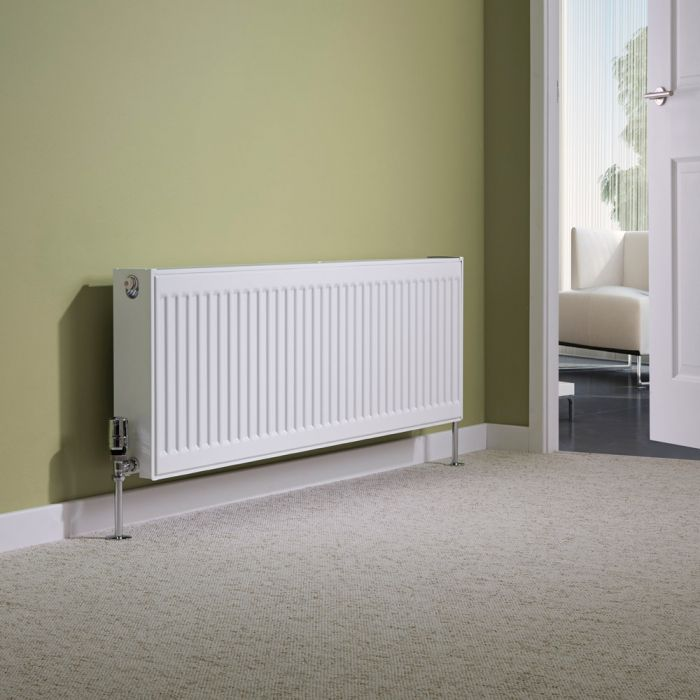 Milano Compact - Double Panel Radiator - 400mm x 1200mm (Type 22)