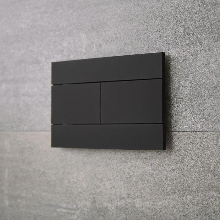 Milano Nero - Flush Plate - Black