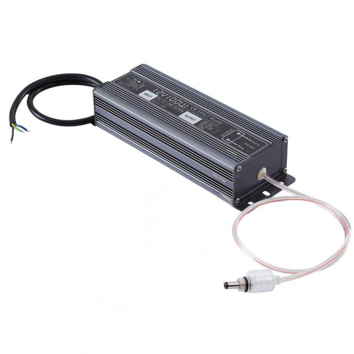 Biard 100W 12VDC Rainproof LED Driver/Transformer