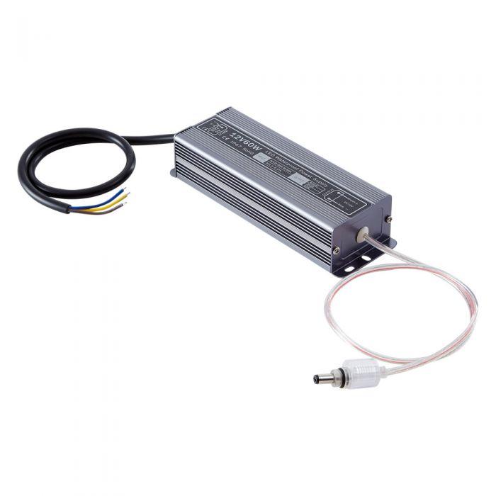 Biard 60W 12VDC Rainproof LED LED Driver/Transformer