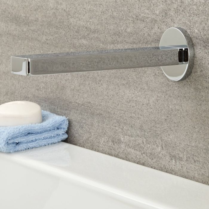 Milano Ashurst - Basin or Bath Spout - Chrome