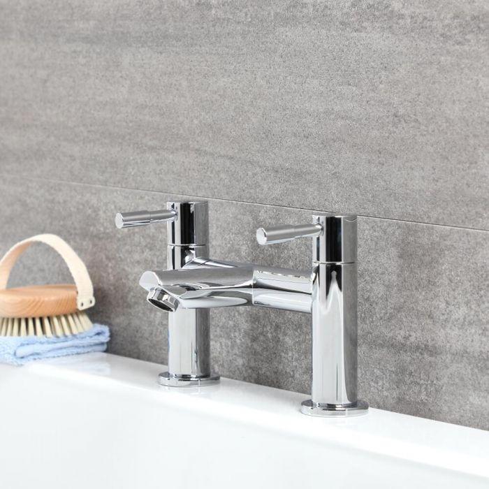 Milano Mirage - Modern Bath Filler Tap - Chrome