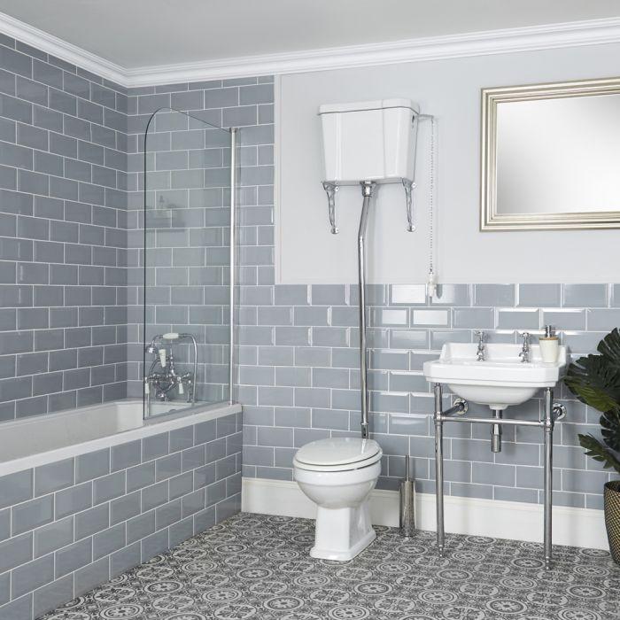Milano Richmond - Traditional Bathroom Suite with Bath ...