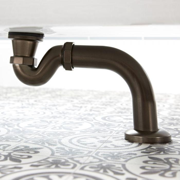 Milano Rosso - Traditional Shallow Seal Bath Trap - Oil Rubbed Bronze