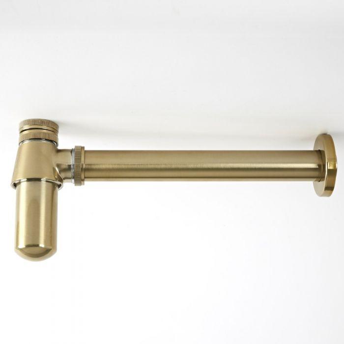 Milano Auro - Basin Bottle Trap - Brushed Gold