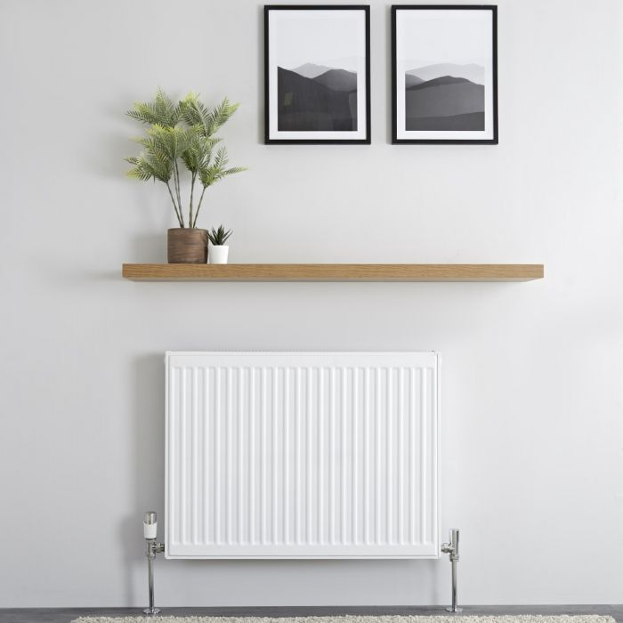 Milano Compact - Double Panel Plus Radiator - 600mm x 800mm (Type 21)