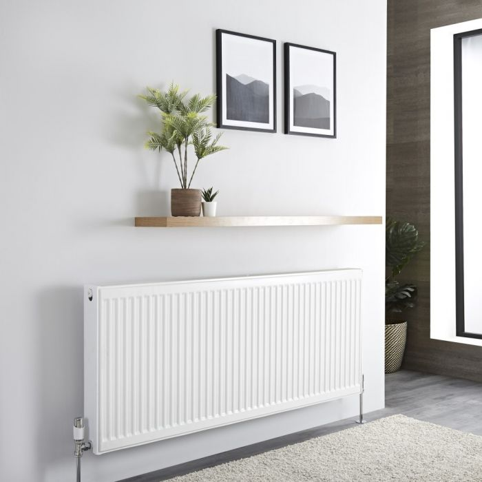 Milano Compact - Double Panel Radiator - 600mm x 1400mm (Type 22)