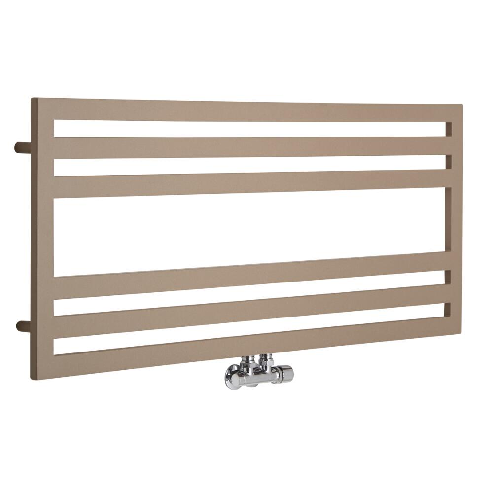 Lazzarini Way - Urbino - Mineral Quartz Designer Heated Towel Rail - 500 x 1200mm
