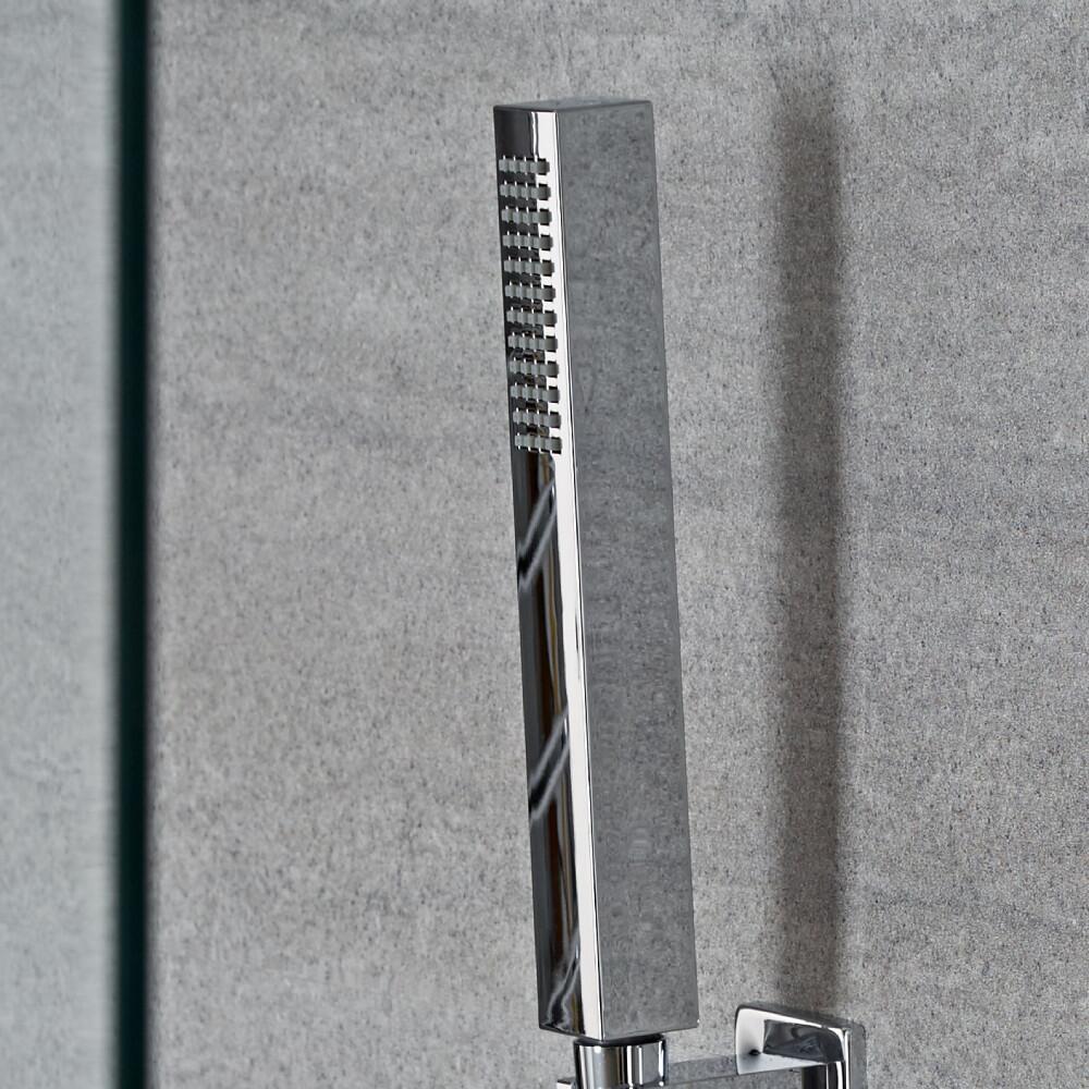 Milano Arvo - Minimalist Square Shower Hand Shower