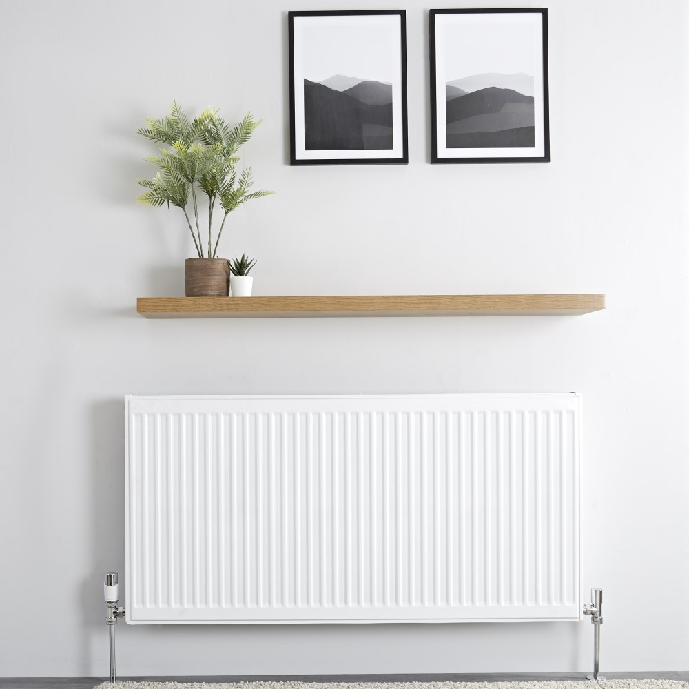 Milano Compact - Double Panel Plus Radiator - 600mm x 1200mm (Type 21)