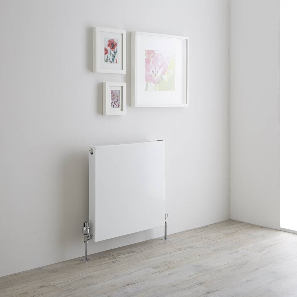 Milano Mono - Double Flat Panel Plus Convector Radiator - 600mm x 600mm (Type 21)