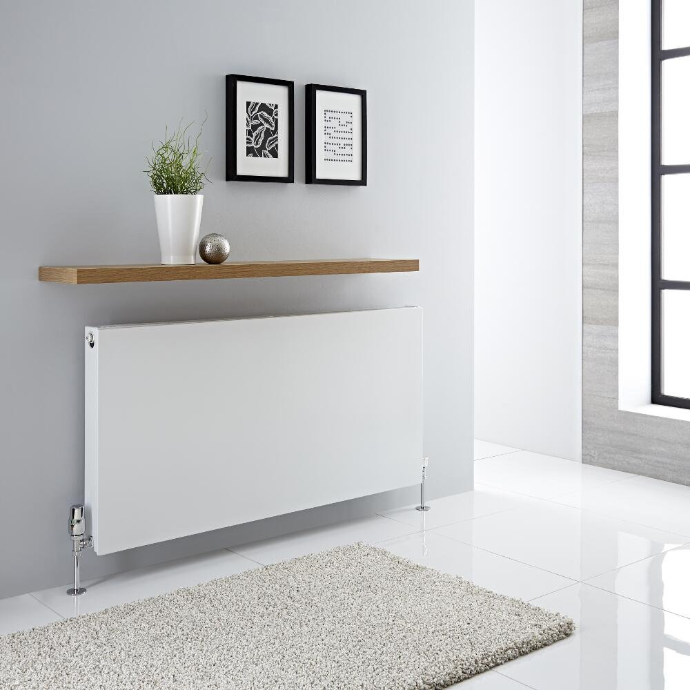 Milano Mono - Double Flat Panel Plus Convector Radiator - 600mm x 1200mm (Type 21)